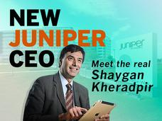 In Pictures: New Juniper CEO -  Meet the real Shaygan Kheradpir