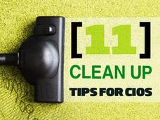In pictures: 11 clean up tips for CIOs