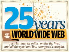 In Pictures: 25 years of the World Wide Web