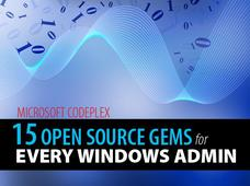 In Pictures: 15 open source gems for Windows ... from Microsoft