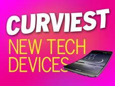 In Pictures: Curviest new tech devices