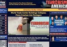 What online news looked like on 9/11