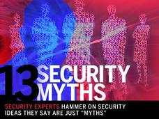 In Pictures: 13 security myths