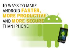 In Pictures: 10 ways to make Android faster, more productive and more secure than iPhone