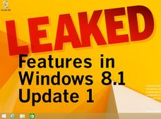 In Pictures: Leaked features in Windows 8.1 Update 1