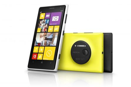 The acquisition news coincided with the launch of the Nokia Lumia 1020. Credit: Nokia