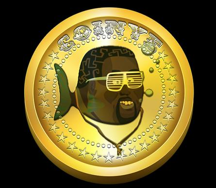Coinye, a digital currency inspired by the rapper Kanye West.