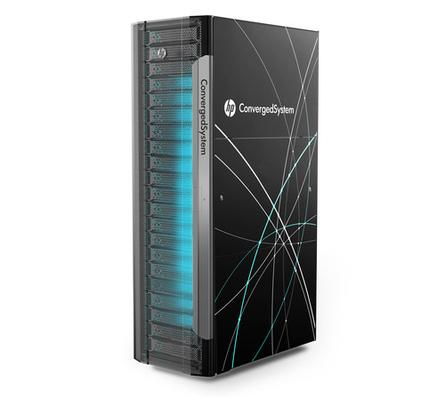 An HP Converged System announced Monday in Barcelona