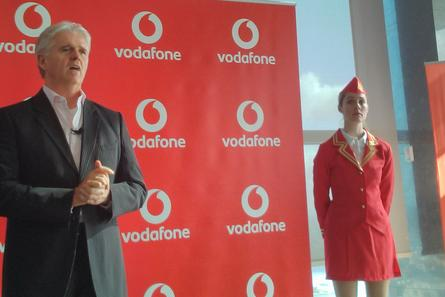 Vodafone CEO Bill Morrow unveils new international roaming plan.