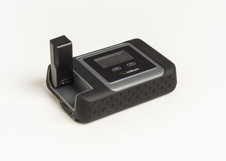 The Iridium Go satellite WiFi hotspot