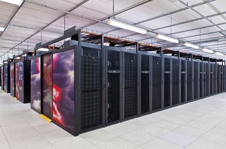 Raijin, Australia's most powerful supercomputer at the Australian National University.