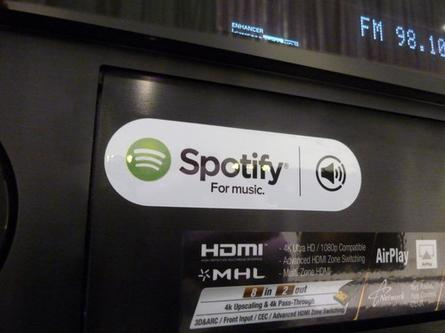 A Spotify compatible audio device from Yamaha