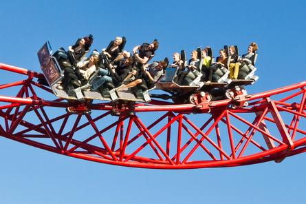 The BuzzSaw at Dreamworld. Credit: Ardent Leisure Group