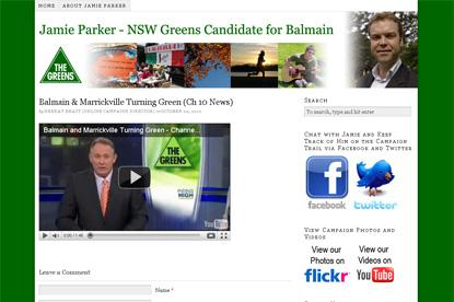NSW Greens use social media in lead up to 2011 state election