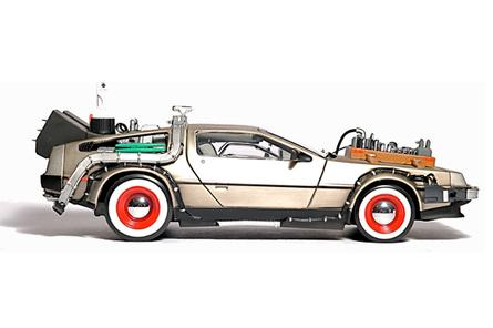 Delorean Back To The Future hard drive