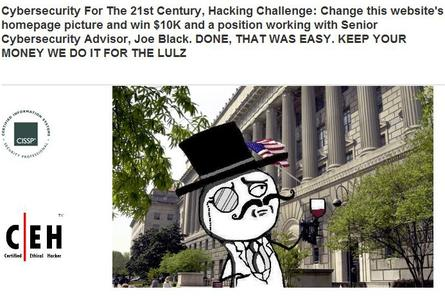 LulzSec strikes again: US cybersecurity website hacked