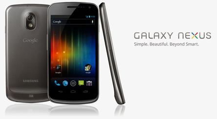 "The Galaxy Nexus is the first Android phone to ship with Android 4.0 or ""Ice Cream Sandwich"""