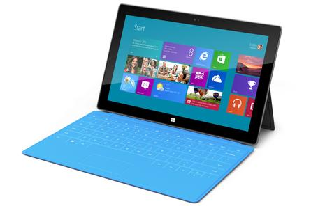 Surface for Windows RT vs. the iPad