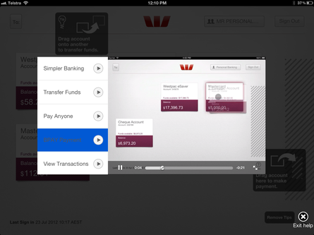 Westpac unveils new mobile banking app for iPad