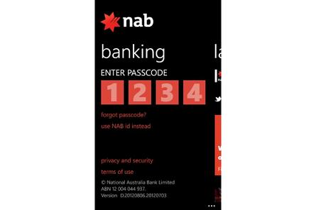 NAB to launch app for Windows Phone
