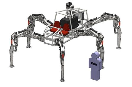 Building Stompy: A giant, open-source robot