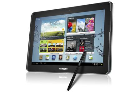 The Samsung Galaxy Note 10.1