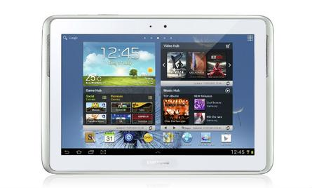 Samsung Galaxy Note 10.1 revealed