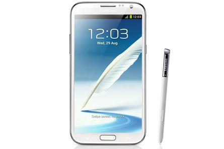 Samsung officially launches Galaxy Note II