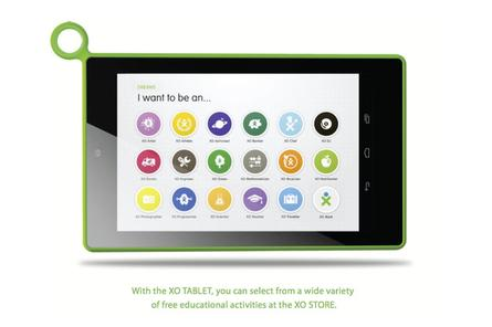 OLPC announces XO Tablet with 7-inch screen