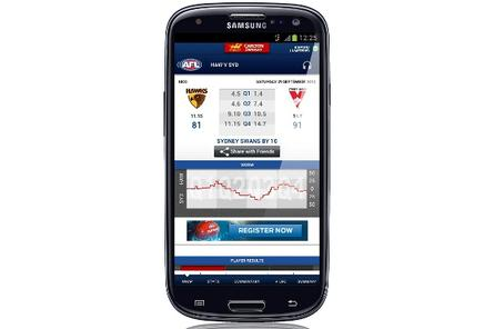 Telstra kicks off AFL season with mobile, tablet app