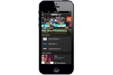 Foxtel streams live sports with iPhone, iPad app