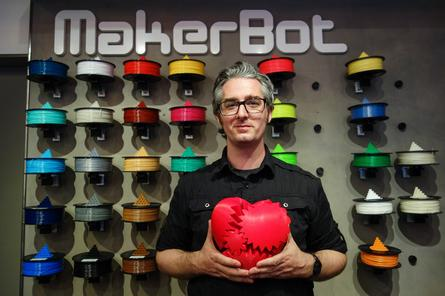 3-D printer maker Stratasys to acquire desktop rival MakerBot