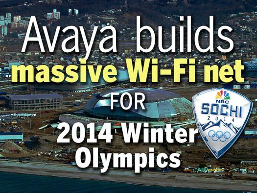 In Pictures: Avaya builds massive Wi-Fi net for 2014 Winter Olympics