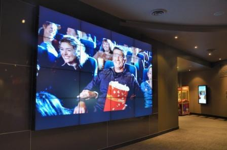 In pictures: Village Cinema's new video wall