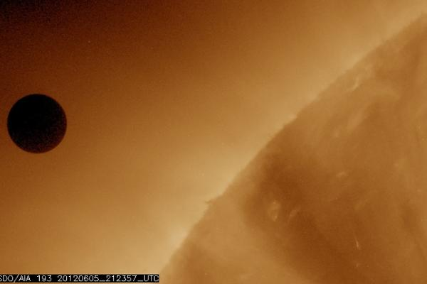Amazing NASA photos of the Venus transit