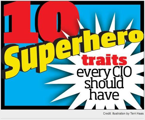 In Pictures: 10 superhero powers every CIO should have