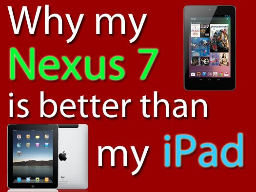 In Pictures: 7 reasons Google's Nexus 7 beats the iPad