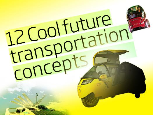 In Pictures: 12 cool future transportation concepts