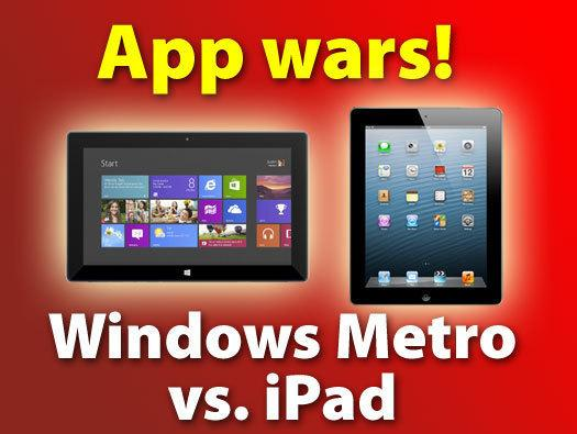 In Pictures: App wars - Windows 8 Metro vs. the iPad