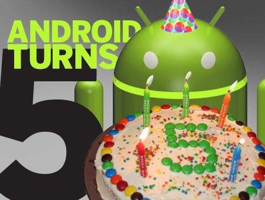 In Pictures: Android turns five - a look back
