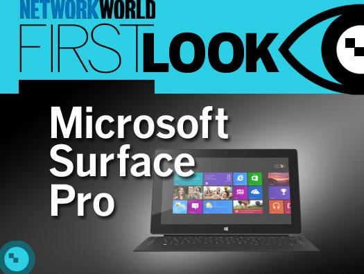 In Pictures: Microsoft Surface Pro