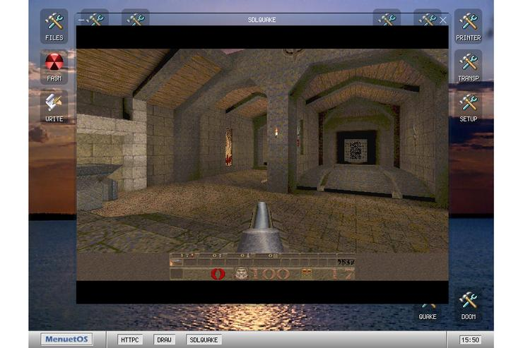 Yeah, that's Quake. Credit: [[xref:http://www.menuetos.net/|menuetos.net]]