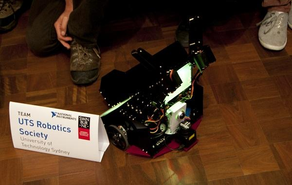 The University of Technology Sydney team's robot. Image credit: National Instruments.