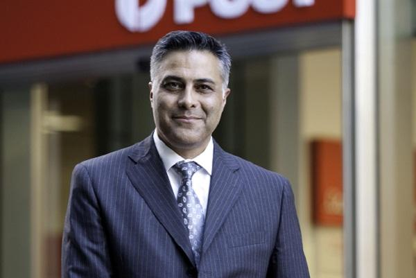 Australia Post CEO Ahmed Fahour. Photo credit: Australia Post.