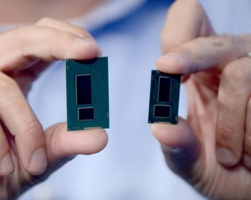 Intel's new Broadwell chip is smaller than the Haswell chip