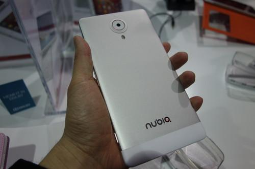 The Nubia X6 features an aluminum back cover.