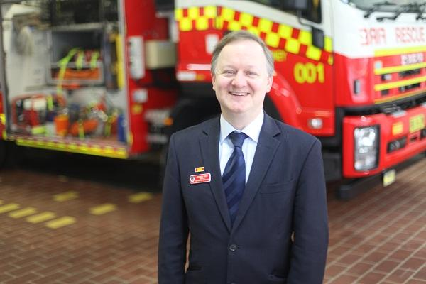 Fire & Rescue NSW IT director Richard Host. Photo credit: Fire & Rescue NSW.