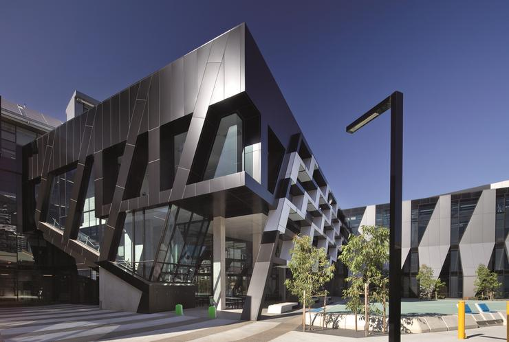 Kangan Institute's Automotive Centre of Excellence at Docklands in Melbourne.