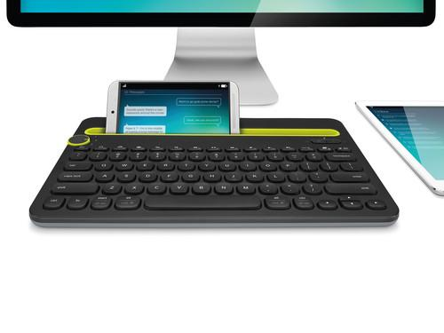 Logitech's Bluetooth Multi-Device Keyboard K480 can connect with up to three devices.