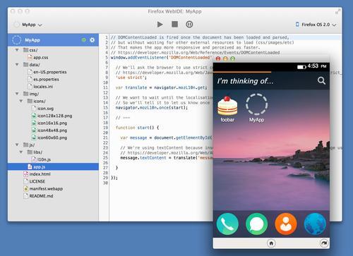 Mozilla's WebIDE